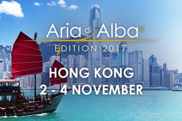 """""""Aria di Alba"""" protagonista a Hong Kong"""