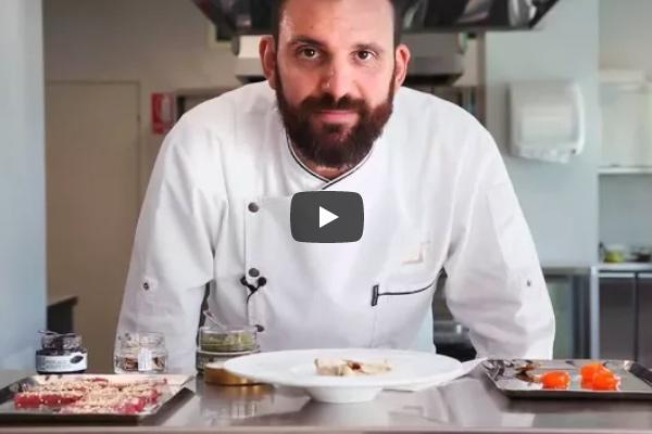 La ricetta dell'uovo marinato alle tre consistenze di tartufo bianco di Piergiorgio Siviero